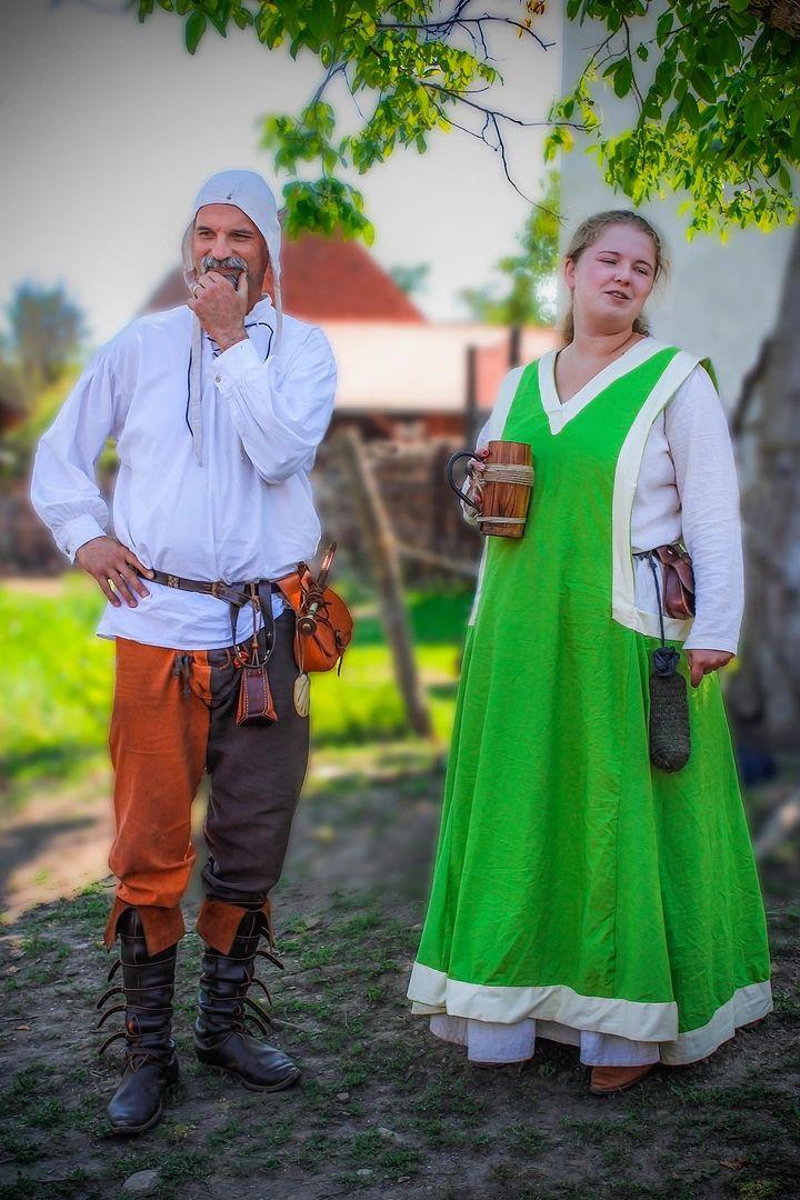 Középkori házaspár