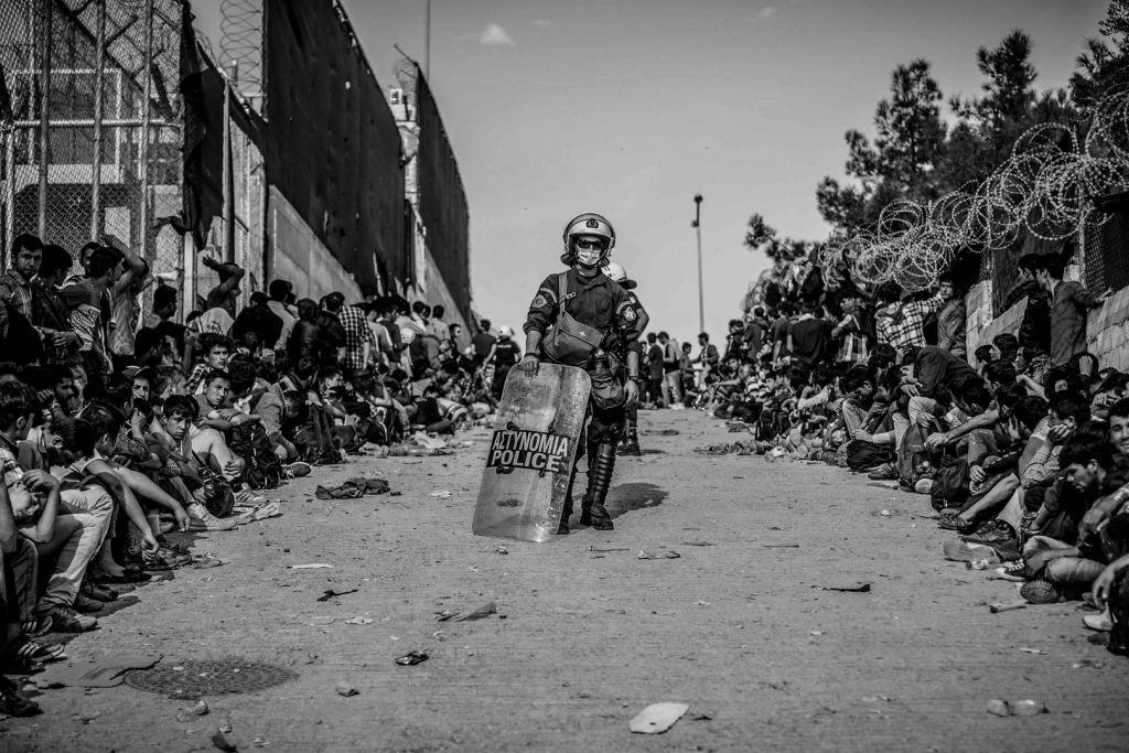 2-Leszbosz/Mória menekült tábor