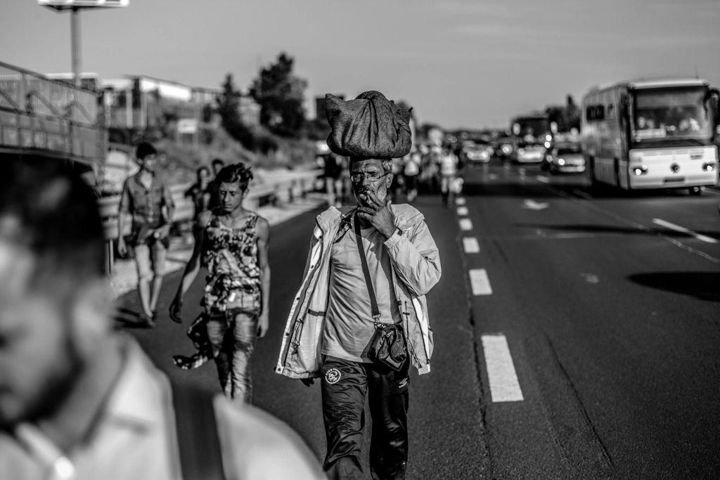 9-Gyalog Ausztriába Budapestről az M1-es autópályán