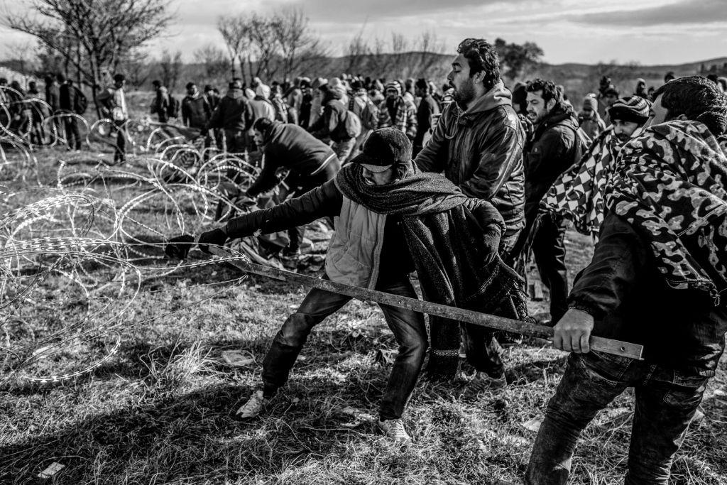 3-Görög-Macedón határ/Idomeni