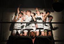 A mester és tanítványai William Shakespeare: Athéni Timon című műve az Ódry színpadon, 2015. április 4-én. Rendező: ifj. Vidnyánszky Attila ötödéves színművész hallgató.