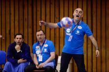 Hammm....  Juan Carlos Pastor, a Szeged vezetőedzője a férfi kézilabda Magyar Kupa döntőjében.