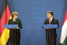 Illiberális?! Angela Merkel - Orbán Viktor találkozó Budapesten. 2015. február 2.