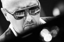 Danilo Rea Danilo Rea olasz jazz zongorista a Torinói Jazz Fesztivál koncertjének hangpróbáján, május 29-én