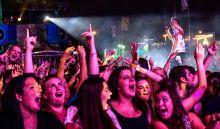 'Take You High' Mc Columbo, a Brains zenekar frontembere egy Budapest Parkban megrendezett koncerten szeptember 17-én.