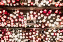 Ima Párizsért Gyertyagyújtás a Párizsi terrortámadásban elhunyt áldozatok emlékére Budapesten 2015.11.14