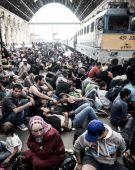 Gyalog galopp A keleti pályaudvarnál, a továbbutazásukkal kapcsolatban kialakult patthelyzet megelégelve, mintegy ezer migráns, gyalog indult Németország irányába. A rendőrség több alkalommal, sikertelenül próbálta leterelni a tömeget, az autópályáról, akiket végül buszokkal szállítottak az osztrák határhoz. A Parlament kihirdette a tömeges bevándorlás okozta válsághelyzetet.