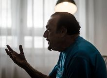 Zimbardo Philip Zimbardo pszichológus professzor interjú közben június 4-én.
