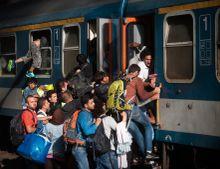 Reményvagon  A Keleti Pályaudvaron szeptember 3.-án teljes káosz alakult ki , miután kinyították a pályaudvar kapuit a menekültek előtt. Az új élet reményében megrohamozták a bent álló vagonokat.