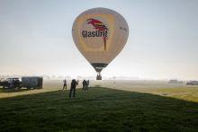 Hőlégballon verseny  Hőlégballon verseny, Őcsényben.