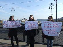 Nemzetközi Nőnap  Nemzetközi Nőnap tiltakozás a nők bántalmazása ellen
