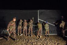 A magyar határ teljes lezárása Zákánynál 2015.10.17.-én a magyar kormány Zákánynál lezárta a horvát-magyar határt.