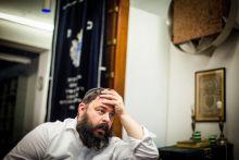 Kérdezd a rabbit Radnóti Zoltán rabbi a Bét Sálom Zsinagógában.