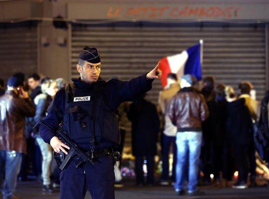 Párizs arcai a terrortámadás után