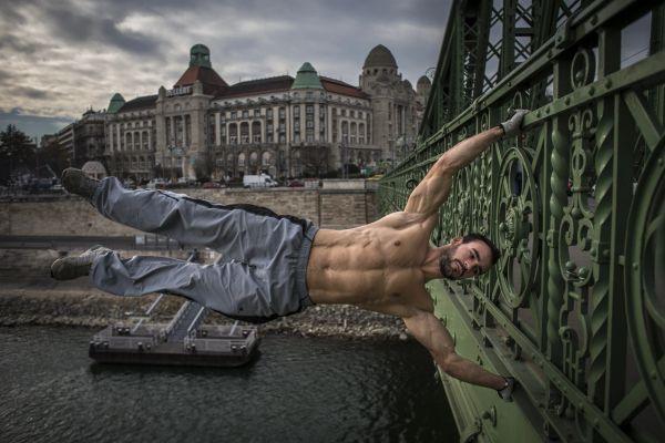 Szarka Ákos, street workout