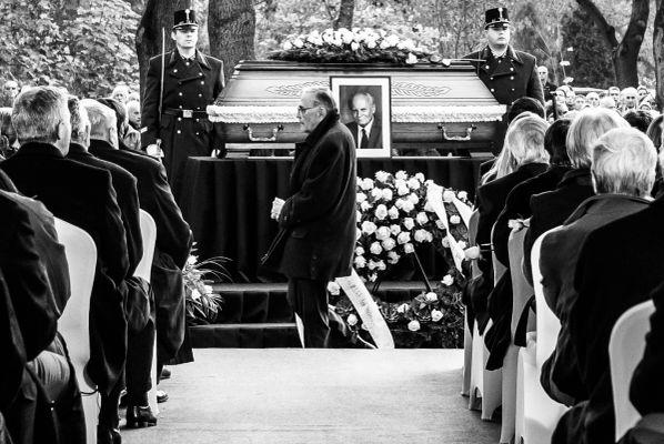 Göncz Árpád temetése