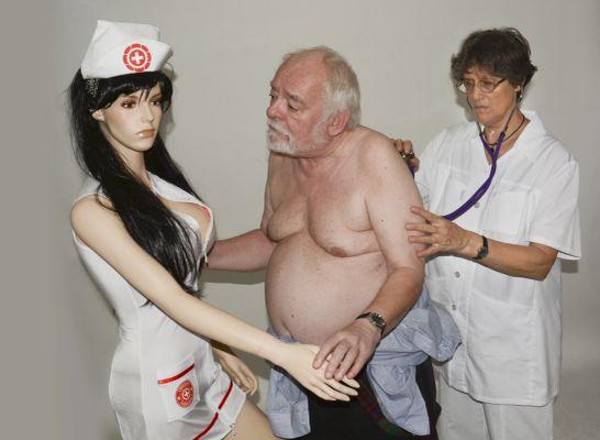 Kecskeméti Kálmán festőművész és felesége Dr. Ungár Anna, valamint a Nővérke (2015)